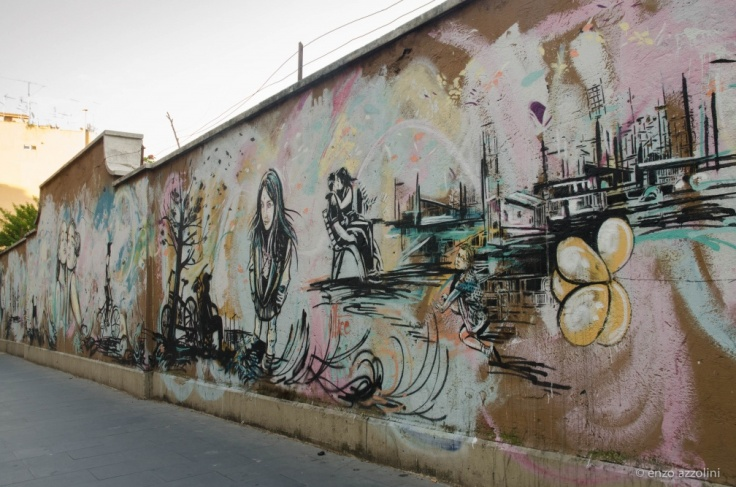 murales di alice pasquini