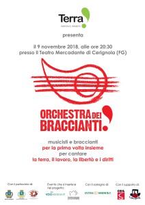 orchestra dei braccianti logo