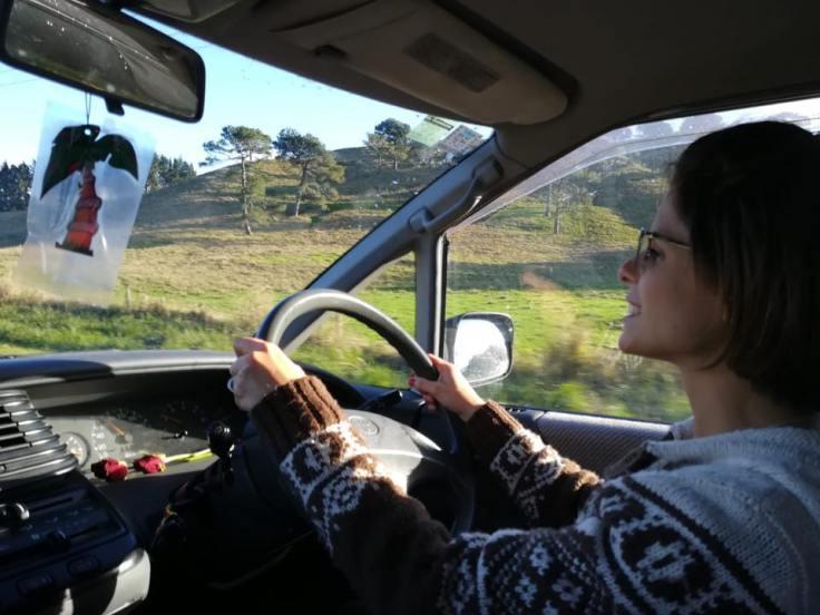 clio in macchina