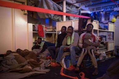 freddo migranti