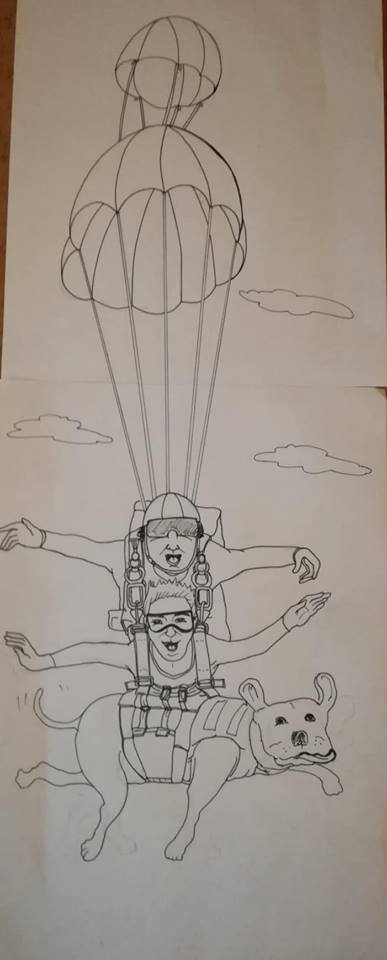 irene paracadute