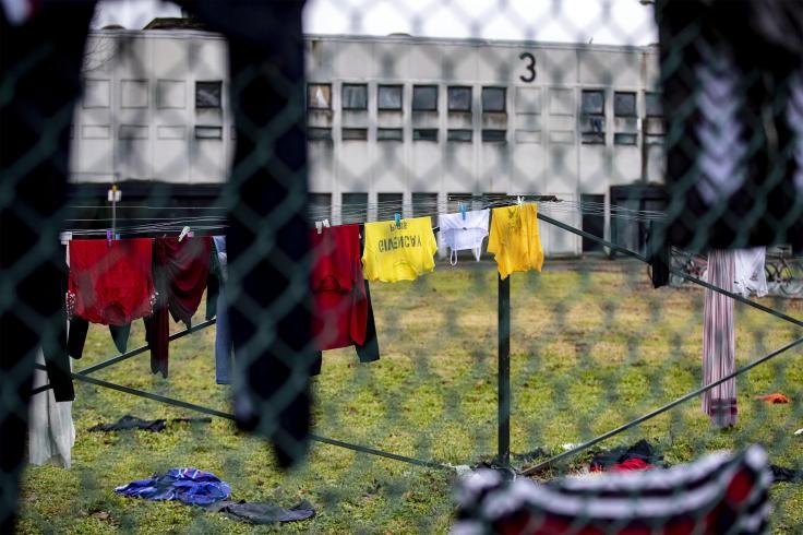Centro accoglienza richiedenti asilo (Cara) di Castelnuovo di Porto