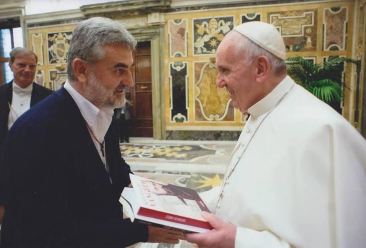 daniele e il papa