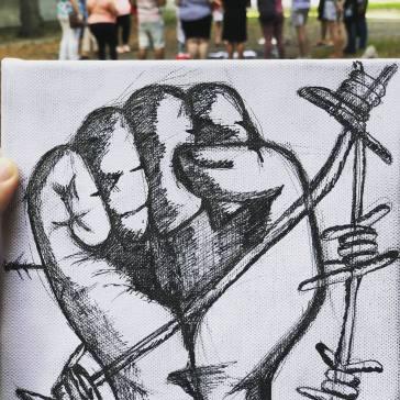 musli simbolo contro la discriminazione