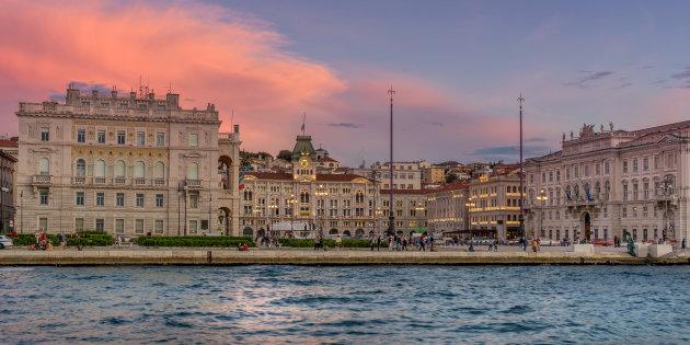 Piazza Dell Unita D'Italia in Trieste