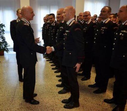 staffetta comandante e legione