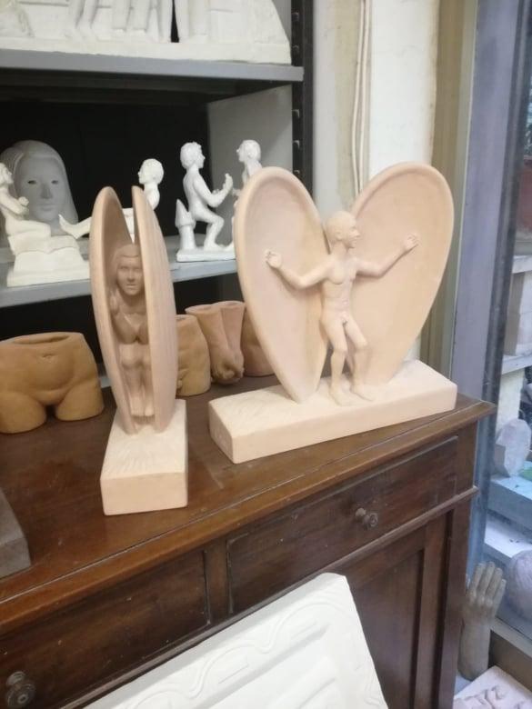carlo sculture casa aperta
