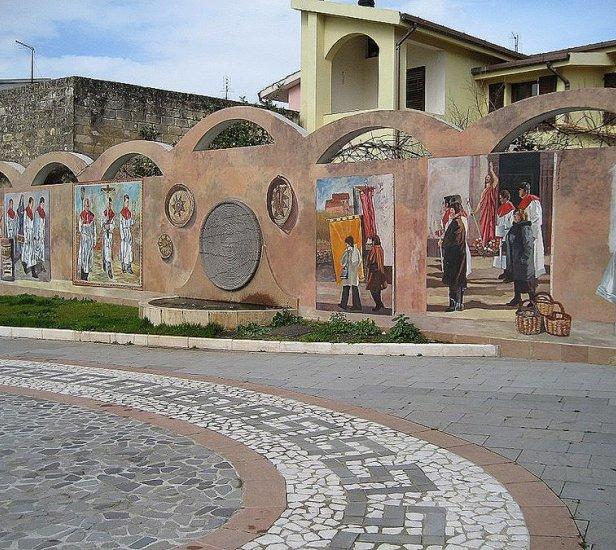 pina murales ceramica