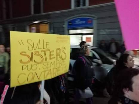 sharly sister manifestazione