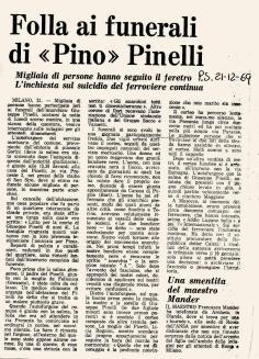 claudia pinelli giornale