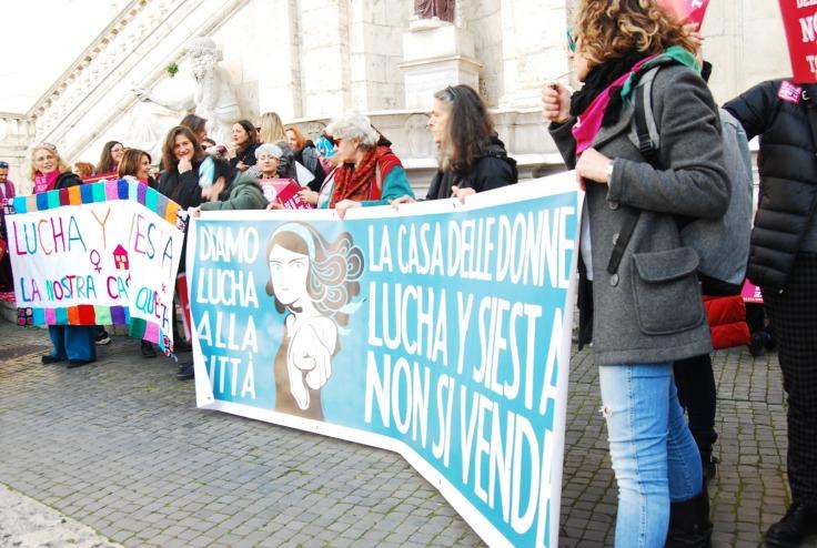 protesta per lucha