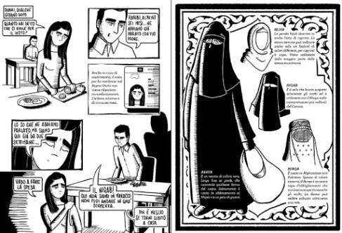 sara e islam fumetto