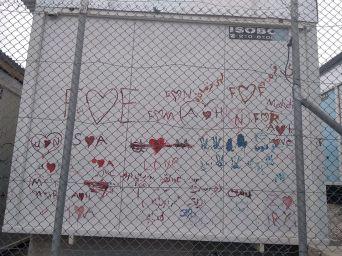 tracce muro bambini