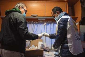 sanità di frontiera consegna presidi