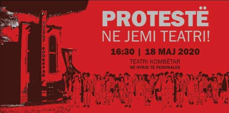 adele teatro la protesta continua