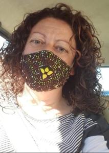 paola con mascherina