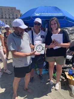spiagge pulizia inclusiva francesca
